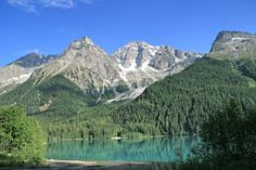 antholzer see - lago di Anterselva    That's where I'm from :) or at least the region I'm named after
