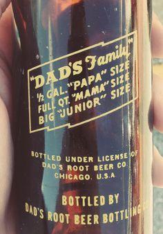 Dad root beer // Packaging
