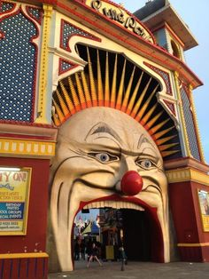 Luna Park Melbourne turns 100 in 2012.. and still loads of fun