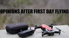 DJI Mavic Air Thoughts After First Day in the Field
