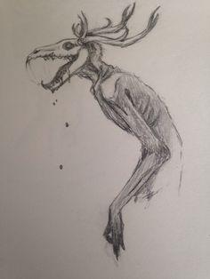 Wendigo  by LazarusFrankenstein