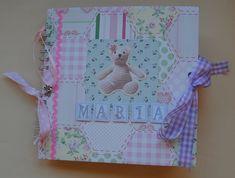 Mini libro de bebé personalizado