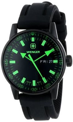 Review for Wenger Men's 70172 Commando Day Date XL Black Rubber Strap Watch – Wenger Watches | Mens Watches Store & Reviews