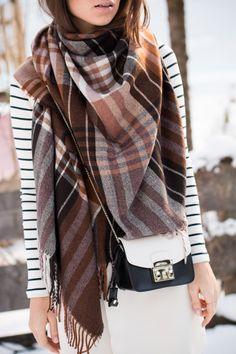 a winter walk with Zalando - Bikinis & Passports