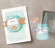 Jar of Love bundle…#stampyourartout #stampinup - Stampin' Up!® - Stamp Your Art Out! www.stampyourartout.com