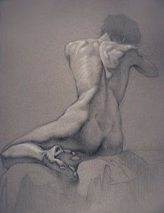 Figure Drawing Professor: Black and White on Toned Paper