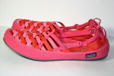 24.71$  Buy now - http://vimlc.justgood.pw/vig/item.php?t=onj003n39195 - Patagonia Advocate Lattice Rossi Pink Woven Flats Shoes 1% For The Planet Size 9