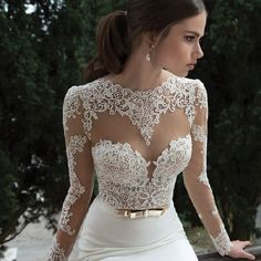 Long sleeve wedding dresses , Berta Bridal Winter 2014