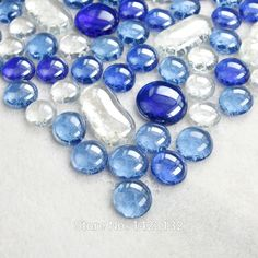 Glass pebble tiles color blue Crystal glass mosaics 4404 Swimming pool tile bead recycled Pebble mosaic glass tile Wall tiles-in Mosaics from Home Improvement on Aliexpress.com   Alibaba Group