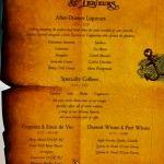 Pirate Night - Dessert Menu (Fantasy)
