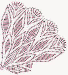 Home Decor Crochet Patterns Part 73 - Beautiful Crochet Patterns and Knitting Patterns Crochet Doily Diagram, Crochet Doily Patterns, Crochet Chart, Thread Crochet, Filet Crochet, Crochet Stitches, Knitting Patterns, Knit Crochet, Crochet Table Runner