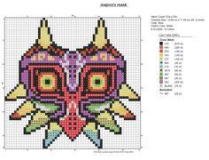 Majora's Mask PDF chart by amandineslx.deviantart.com on @DeviantArt