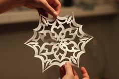 christmas craft snowflake