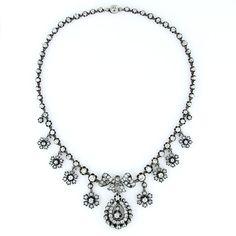Imagen Diamante collar antiguo 2