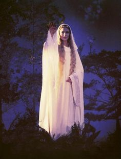 """Galadriel: """"May it be a light for you in dark places, when all other lights go out."""""""