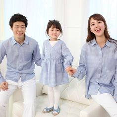 """Today's Hot Pick :Checkered Top with Plain Patch Pocket http://fashionstylep.com/P0000ECM/funnylove09/out Providing you with the best in coordinated family clothing, or """"Family Look"""" straight from the heart of fashion - Seoul, Korea! All our products are made from high quality materials and made with your family in mind. If you have questions about specific sizing, please feel free to contact us!"""