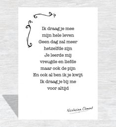 Kaart Je leeft in mij We Always Love You, Never Forget, Words Quotes, Qoutes, Sayings, Missing My Son, Verse, I Miss You, Grief
