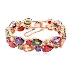 European Korean Jewelry Gift Zircon Chain For Women Link Female Woman Amp Bangles Promotion Mona Lisa Bracelet