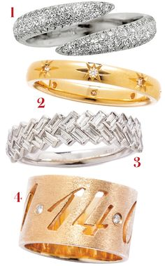Battle of the Bands: See Our Favorite Non-Traditional Wedding Rings from #InStyle