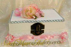 Wedding ring box for ring bearer wedding ring por SweetMoonArt