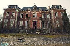 Abandoned Mansion in Auvergne, France