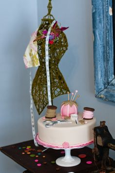 Pink, Yellow and Green Sewing Party for Girls - OCCASIONS OCCASIONS