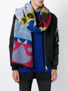 'Double Art' scarf | Henrik Vibskov Boutique
