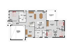 The Benowa, Our Designs, ACT Builder, GJ Gardner Homes ACT