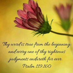 Psalm 119:60 KJV