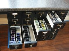 Easy Thread Organization - 150 Dollar Store Organizing Ideas and Projects for the Entire Home