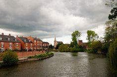 shrewsbury, england.