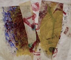 art journal - expression through abstraction — hildymaze:   the invisible fence  oil on paper...