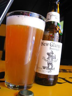 New Glarus Dancing Man Wheat (My favorite beer they make!)