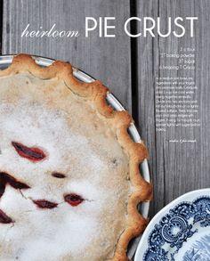 pie crust recipe from @Charynn Olsheski  #thepartydressmagazine