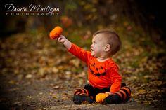 fall photography babies -