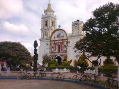 Vista de la Parroquia de Santiago Apóstol.