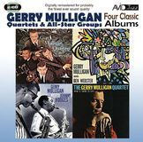 Four Classic Albums: Gerry Mulligan Meets Johnny Hodges/What Is There to Say/Gerry Mulligan Meets Ben Webster/Gerry Mulligan Quartet at Storyville [CD], 27046562