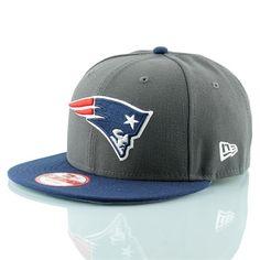TAASS.com - The All American Sport Store - New Era New England Patriots 2-Tone Grey 9FIFTY Snapback NFL Cap S/M
