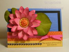 Valita's Designs & Fresh Folds: Lotus paper art flower
