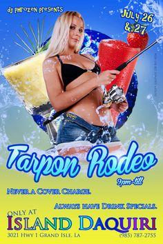 Tarpon Rodeo Flyer I made