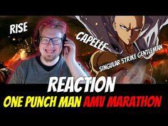 AMV Marathon REACTION | 3 One Punch Man AMVs