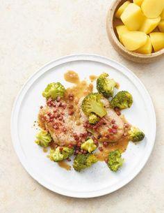 Speckschnitzel mit Broccoli Rezept - [ESSEN UND TRINKEN]