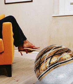 #SICIS #Mosaic #Tile #Art #Interiors #Yellow #InteriorDesign #Decor