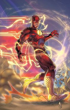 The Flash New 52 by Jim Lee