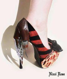 Awsome Freddy Krueger shoes!!