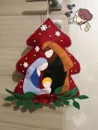 Sewing crafts for christmas quilt blocks 60 Ideas for 2019 Diy Christmas Angel Ornaments, Nativity Ornaments, Felt Ornaments, Christmas Angels, Christmas Art, Christmas Projects, Felt Christmas Trees, Christmas Ideas, Christmas Crafts