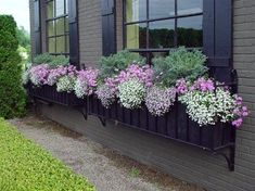 spring window box-How pretty! 2019 spring window box-How pretty! The post spring window box-How pretty! 2019 appeared first on Flowers Decor. Unique Garden, Window Box Flowers, Window Planter Boxes, Garden Windows, Yard Landscaping, Container Gardening, Succulent Containers, Container Flowers, Gardening Books