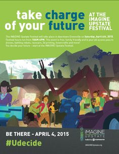 Get the full scoop on iMAGINE upstate Festival in Downtown Greenville on April 4th #kiddingaroundgreenville #yeahTHATgreenville #iMagineUPSTATE