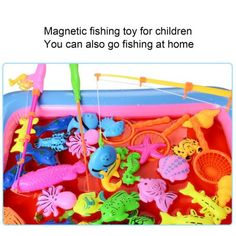 Free Shipping. Buy 20PCS/SET Children Kids Magnetic Fishing Toys Summer Play Fishing Games at Walmart.com