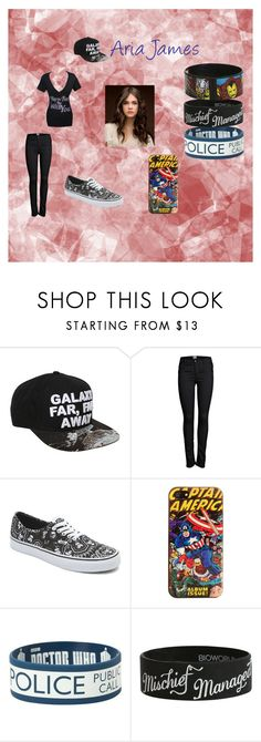 """Aria James"" by missamanda98 ❤ liked on Polyvore featuring Hot Topic, ONLY, Vans, Marvel Comics and Marvel"